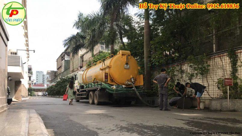 hút bể phốt huyện Thanh Trì
