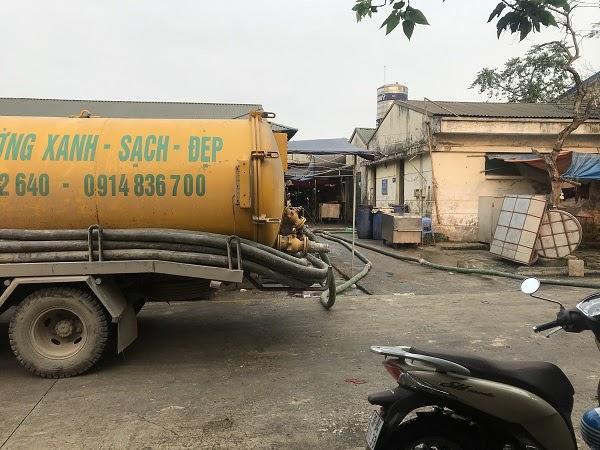 Báo giá thông hút bể phốt rẻ nhất khu vực Vĩnh Phúc