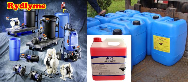 Dung dịch hóa chất làm sạch đường ống nước sinh hoạt