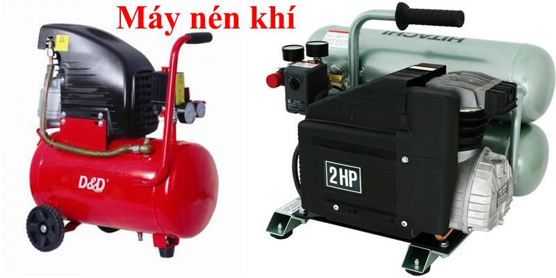 máy áp khí để thông tắc cống, ống thoát nước