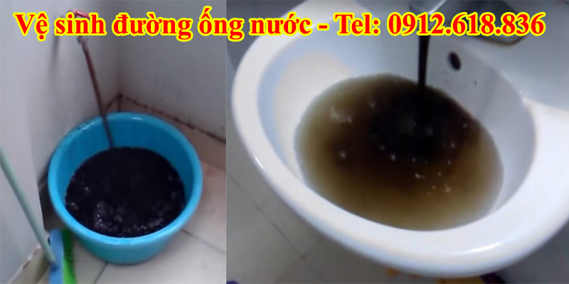 ve sinh duong ong nuoc