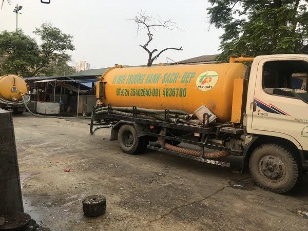 Hút bể phốt Tấn Phát nhận thông tắc cống, hút bể phốt tại Bắc Ninh