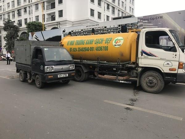 Hút bể phốt Tấn Phát chuyên hút bể tự hoại trên nhiều tuyến đường tại Bắc Giang