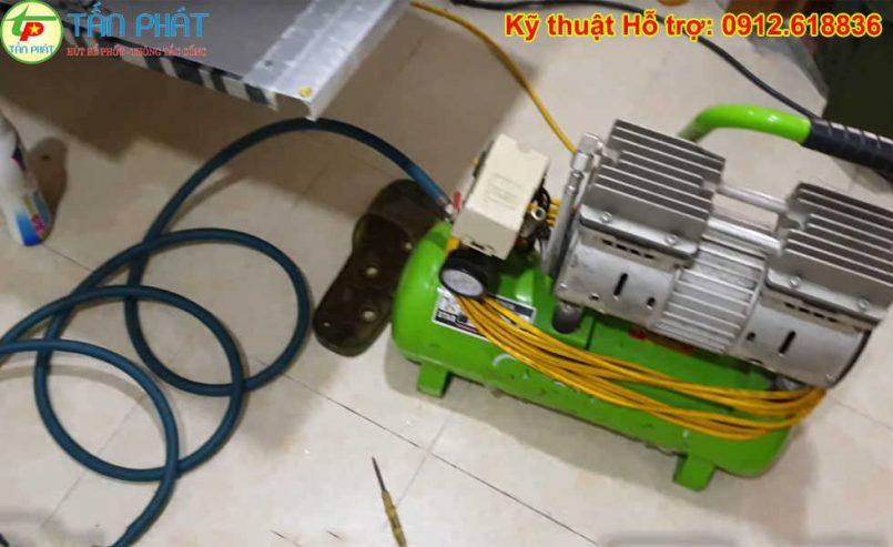 Cách thông tắc cống bằng máy nén khí