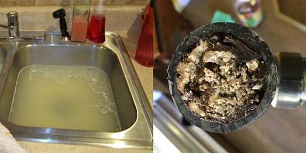 Nguyên nhân bồn rửa bát bị tắc không thoát nước được là gì?