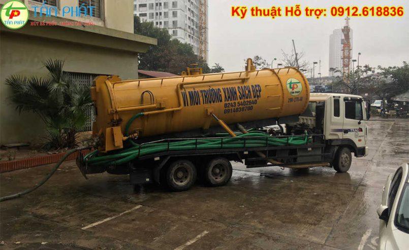hút bể phốt quận Thanh Xuân