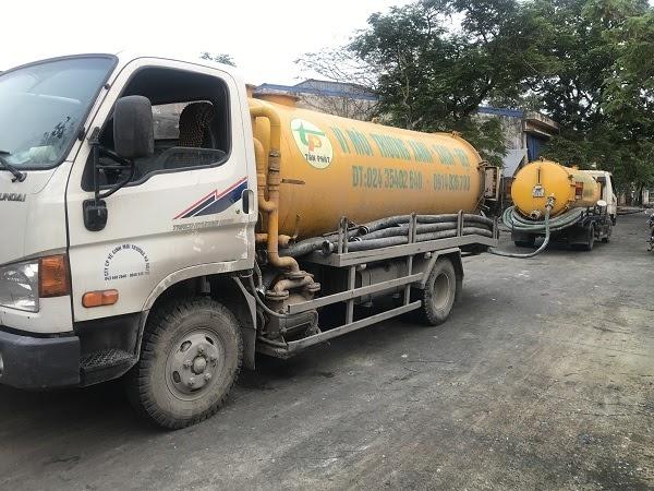 Hút bể phốt Tấn Phát - Đơn vị nhận hút bể phốt tại Phú Thọ giá rẻ
