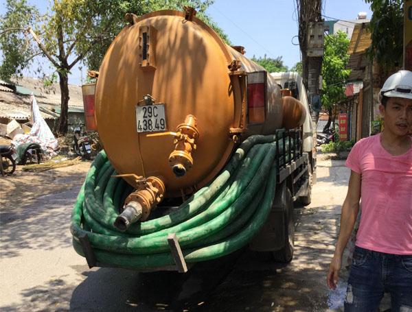 hút bể phốt tại Phú Diễn