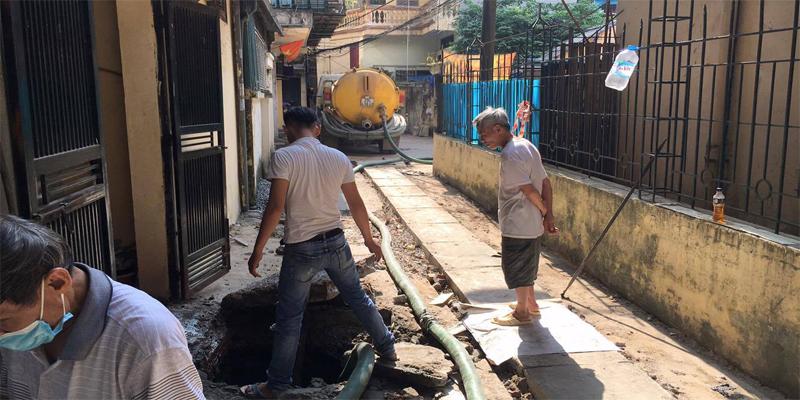 Thông hút hố ga tại Hà Nội
