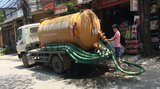 Xe Hút Bể Phốt Tại Thịnh Quang