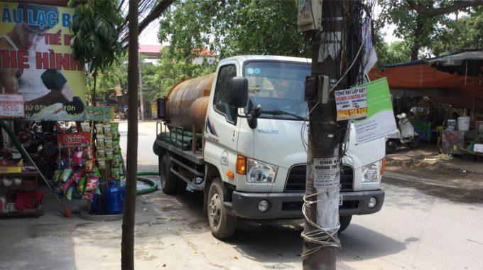 Xe Hút Bể Phốt Tại Trung Hòa