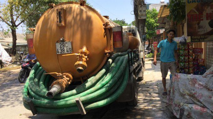 Xe Hút Bể Phốt Tại Phan Chu Trinh